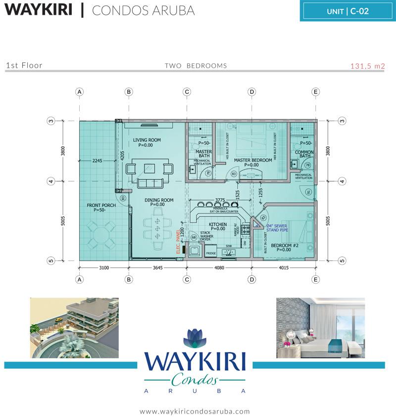 Waykiri Condos Caribbean Real Estate Property For Sale